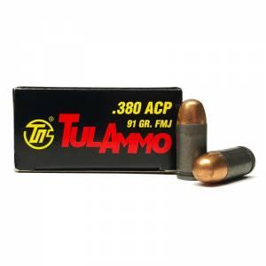 Tulammo .380 ACP 91 GR. FMJ 50 round