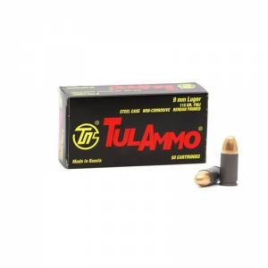 Tulammo 9mm Luger 50 round