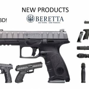 Beretta APX 9x19mm 125mm Pistol