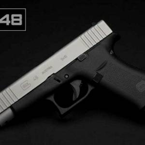 GLOCK 48 SILVER GNS 5.5 lb comm 10 rd